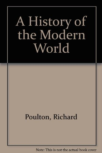 9780199132652: A History of the Modern World