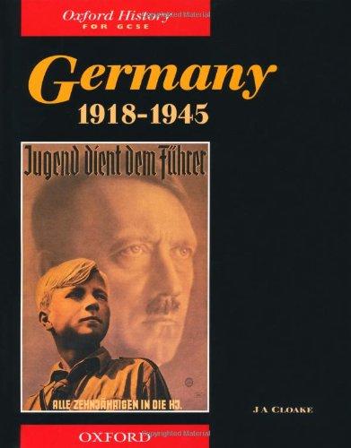 9780199132775: Germany 1918-1945