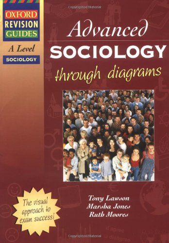 9780199134090: AS and A Level Sociology Through Diagrams (Oxford Revision Guides)