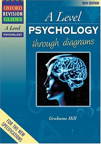 9780199134229: A-Level Psychology Through Diagrams (Oxford Revision Guides)