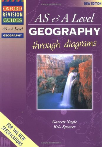 9780199134328: AS and A Level Geography Through Diagrams (Oxford Revision Guides)