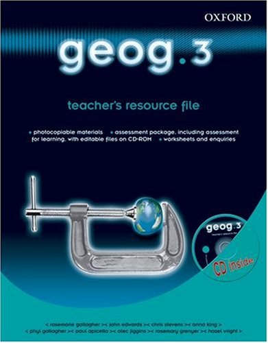 9780199134540: geog.123: geog.3: teacher's resource file: Teacher's Resource File and CD-ROM Level 3