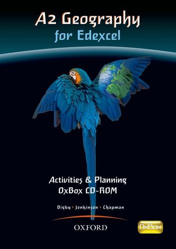 9780199134861: A2 Geography for Edexcel Activities & Planning OxBox CD-ROM