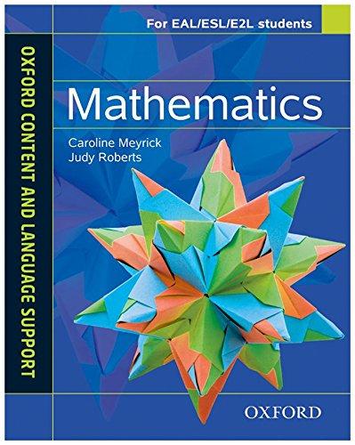 9780199135295: Mathematics. CLIL for english. Student's book. Con espansione online. Per le Scuole superiori (Oxford Content & Language)