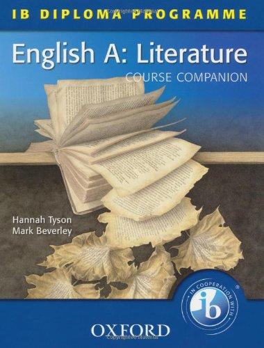 9780199135417: IB Course Companion: English A Literature (International Baccalaureate)