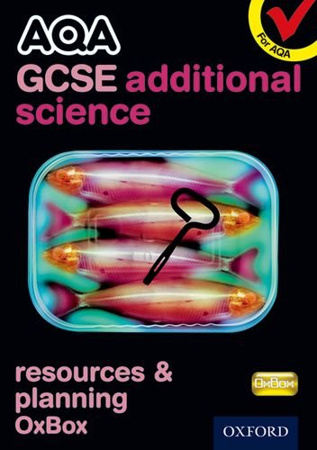 AQA GCSE Additional Science Resources and Planning OxBox CD-ROM: CHADHA