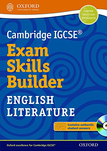 9780199136230: Cambridge IGCSERG Exam Skills Builder: English Literature (Cambridge Igcse Exam Skills Builder)