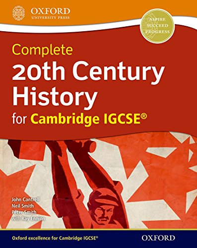 9780199136360: 20Th Century History For Cambridge Igcse Student's Book