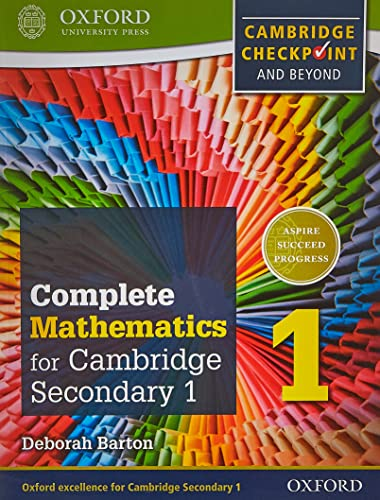 9780199137046: Complete Mathematics for Cambridge Secondary 1 Student Book 1: For Cambridge Checkpoint and beyond