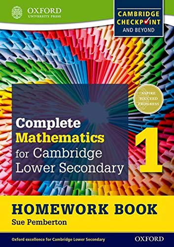 9780199137060: Complete Mathematics for Cambridge Lower Secondary Homework Book 1 (Pack of 15): For Cambridge Checkpoint and beyond (Cie Checkpoint)