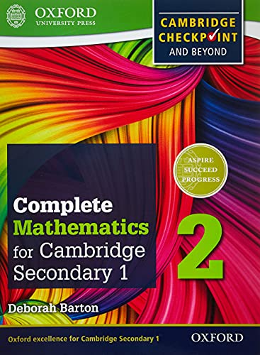Complete Mathematics for Cambridge Secondary 1 Student Book 2: For Cambridge Checkpoint and beyond ...