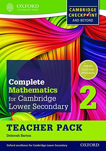 9780199137084: Complete Mathematics for Cambridge Secondary 1 Teacher Pack 2: For Cambridge Checkpoint and beyond