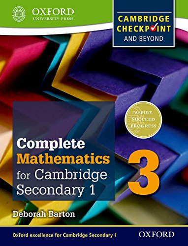 9780199137107: Complete Mathematics for Cambridge Secondary 1 Student Book 3: For Cambridge Checkpoint and beyond