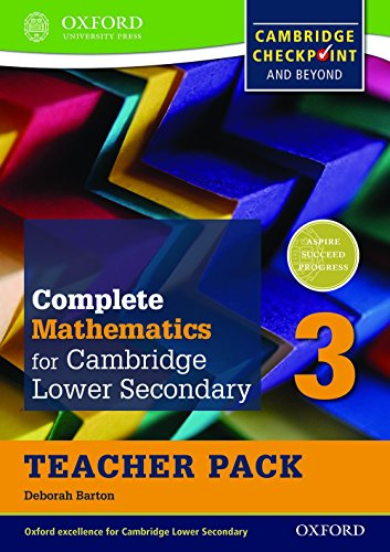 9780199137114: Complete Mathematics for Cambridge Secondary 1 Teacher Pack 3: For Cambridge Checkpoint and beyond