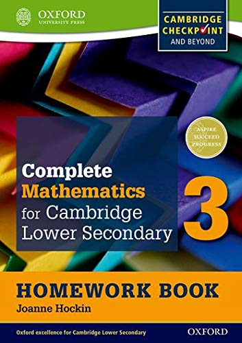9780199137121: Complete Mathematics for Cambridge Secondary 1 Homework Book 3 (Pack of 15): For Cambridge Checkpoint and beyond
