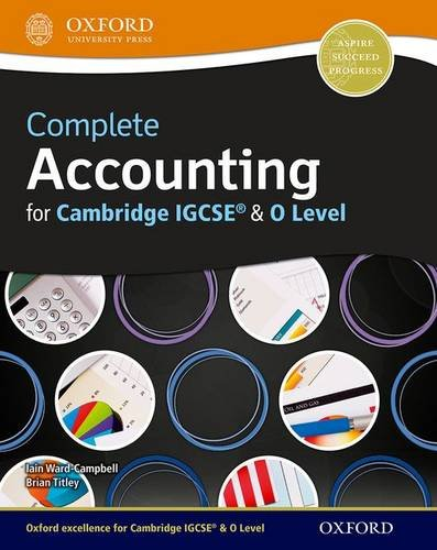 9780199138104: Complete Accounting for Cambridge O Level & IGCSERG