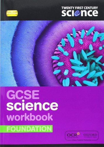 9780199138180: Twenty First Century Science: GCSE Science Foundation Workbook