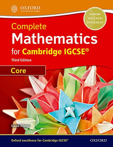 9780199138722: Core mathematics for Cambridge IGCSE. Student book. Con espansione online. Per le Scuole superiori