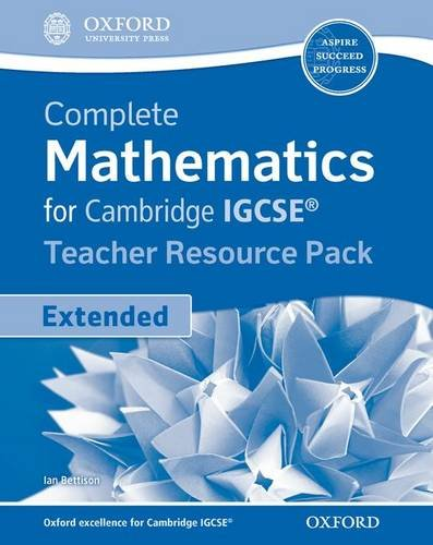 9780199138753: Extended Mathematics For Cambridge Igcse. Teacher's Resource Pack