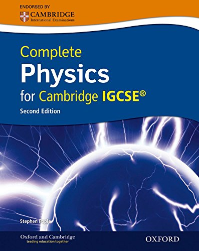 9780199138777: Complete Physics for Cambridge IGCSERG with CD-ROM (Second Edition)