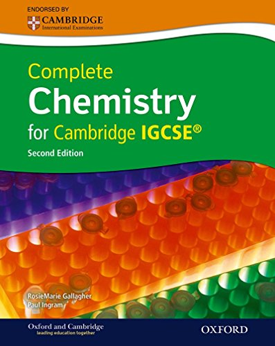 9780199138784: Complete Chemistry for Cambridge IGCSERG with CD-ROM (Second Edition)