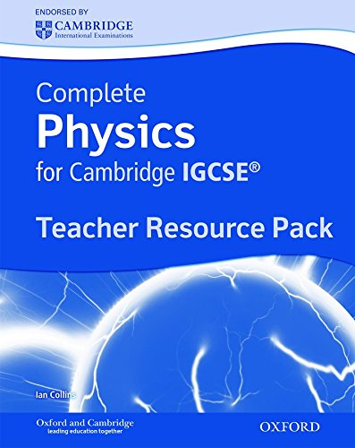 9780199138807: Complete Physics for Cambridge IGCSERG: Teacher's Resource Pack