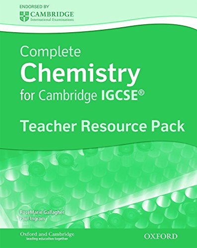 Complete Chemistry for Cambridge IGCSE®: Teacher's Resource: Gallagher