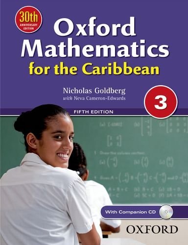 9780199139194: Oxford Mathematics for the Caribbean 3