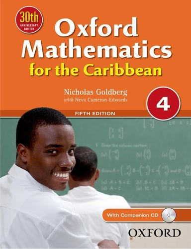 9780199139200: Oxford Mathematics for the Caribbean 4