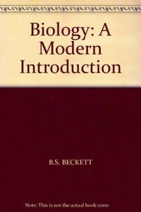 9780199140886: BIOLOGY: A MODERN INTRODUCTION (map)