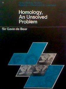 9780199141111: Homology: An Unsolved Problem (Biology Readers)