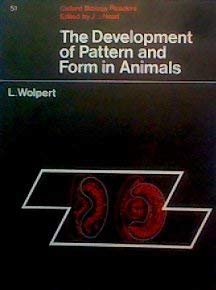 9780199141579: Development of Pattern and Form in Animals (Biological Readers)