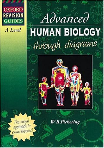 9780199141920: A-Level Advanced Human Biology Through Diagrams (Oxford revision guides)