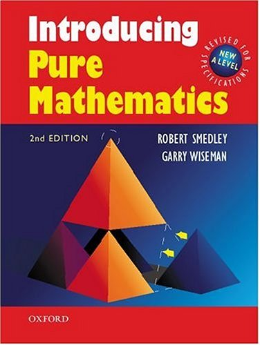Introducing Pure Mathematics: Wiseman, Garry
