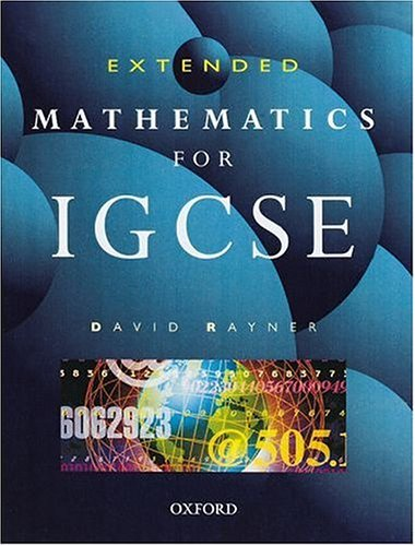 9780199147854: Extended Mathematics for IGCSE