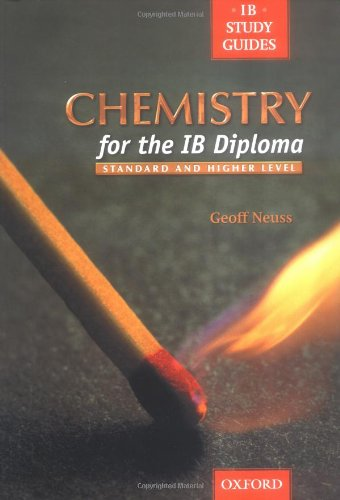 9780199148073: Chemistry for the Ib Diploma (IB study guides)