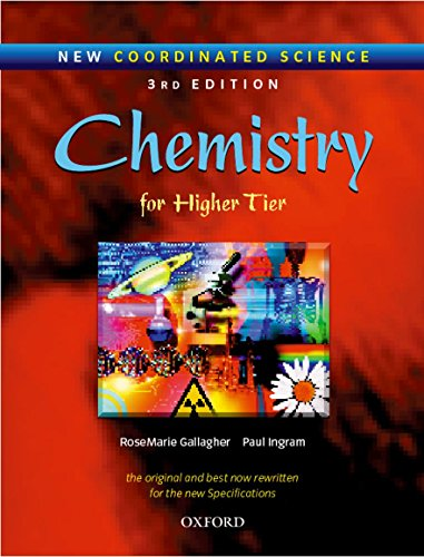 9780199148172: Chemistry for Higher Tier (New Coordinated Science)