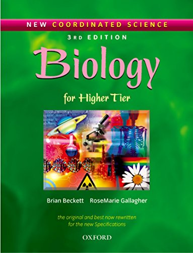 9780199148196: New Coordinated Science: Biology : for higher tier. Per il Liceo linguistico: Biology Students' Book