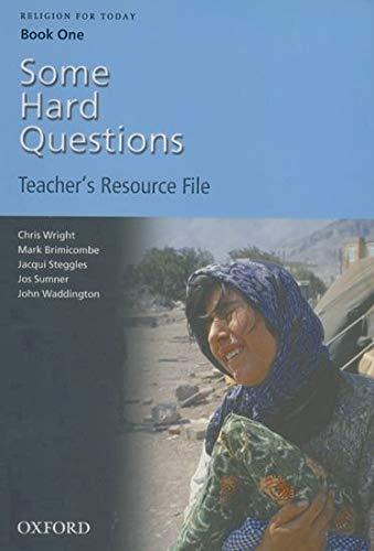 Religion for Today: Teacher Resource File Bk. 1 (0199148341) by Chris Wright; Jacqui Steggles; John Waddington; Josephine Sumner; Mark Brimicombe