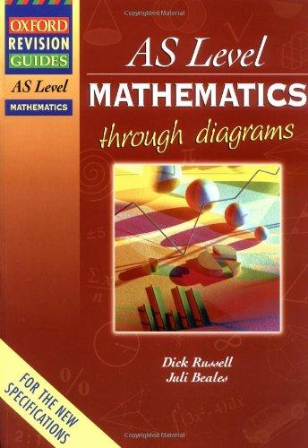 9780199148387: AS Level Mathematics Through Diagrams (Oxford Revision Guides)