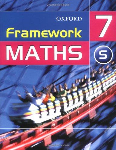 9780199148486: Framework Maths: Year 7 Support Students' Book