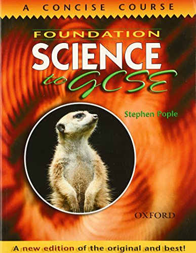 Foundation Science to GCSE (0199148821) by Pople, Stephen