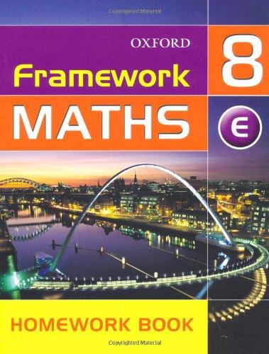 9780199148912: Framework Maths: Extension Homework Book Year 8