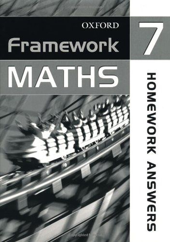 9780199149308: Framework Maths: Year 7: Homework Answer Book: Homework Answer Book Year 7 (Framework Maths Ks3)