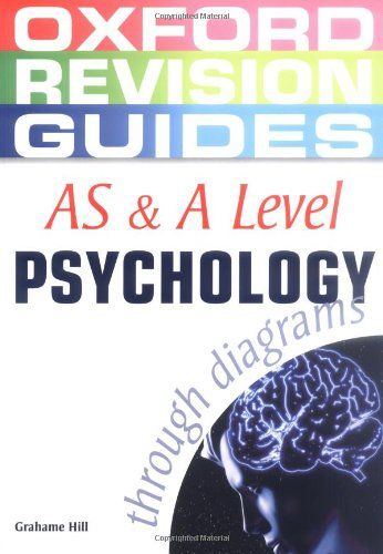 9780199150700: AS and A Level Psychology Through Diagrams (Oxford Revision Guides)