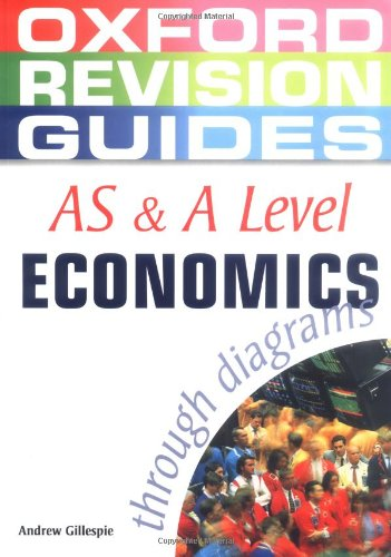 9780199150717: AS and A Level Economics Through Diagrams (Oxford Revision Guides)
