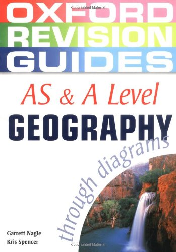 9780199150724: As and a Level Geography Through Diagrams (Oxford Revision Guides)
