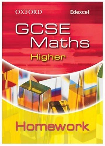 9780199150809: Oxford GCSE Maths for Edexcel: Higher Homework Book