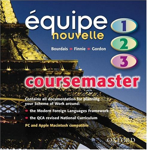9780199150953: Equipe nouvelle: Parts 1-3: Coursemaster CD