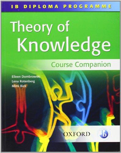 9780199151226: Theory of Knowledge: Course Companion- IB Diploma Program